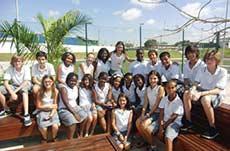 Colégio em Luanda