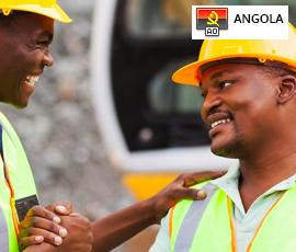 Empregos na Construção Civil em Angola