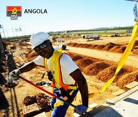 Empregos em Construção e Imobiliário em Luanda