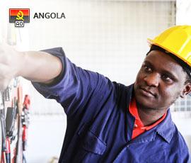 Empregos em Serviços em Angola