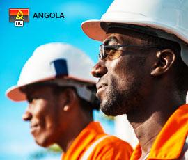 Empregos no setor Petróleo e Gás Angola