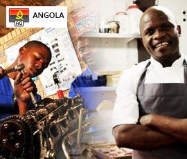 Empregos Profissionais, Operários e Ofícios Angola