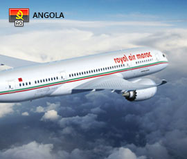 Royal Air Maroc em Angola
